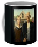 American Gothic Duvet Coffee Mug