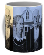 American Gothic In Colors Coffee Mug