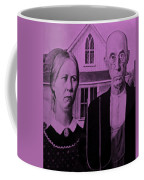 American Gothic In Pink Coffee Mug