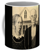 American Gothic In Sepia Coffee Mug