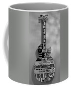American Guitar In Black And White1 Coffee Mug