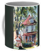 American Home With Children's Gazebo Coffee Mug by Kip DeVore