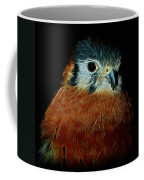 American Kestrel Digital Art Coffee Mug