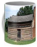 American Log Cabin Coffee Mug by Frank Romeo