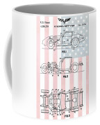 American Made Corvette Patent Coffee Mug