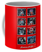 American Muscle Red Poster Coffee Mug