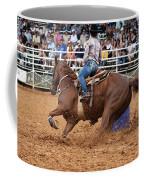 American Rodeo Female Barrel Racer White Blaze Chestnut Horse IIi Coffee Mug