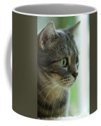 American Shorthair Cat Profile Coffee Mug