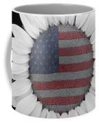 American Sunflower Power Coffee Mug