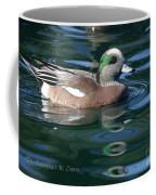 American Widgeon Duck Coffee Mug
