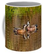 American Wigeon Pair Together Coffee Mug