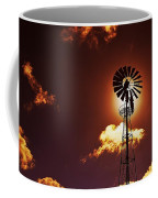 American Windmill Coffee Mug by Marco Oliveira
