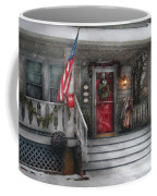Americana - A Tribute To Rockwell - Westfield Nj Coffee Mug by Mike Savad