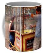 Americana - Candy - Getting Cotton Candy  Coffee Mug by Mike Savad