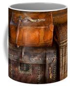 Americana - Emotional Baggage  Coffee Mug by Mike Savad
