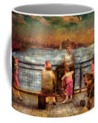 Americana - People - Jewish Families Coffee Mug by Mike Savad