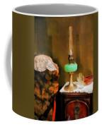 Americana - Still Life With Hurricane Lamp Coffee Mug