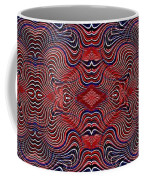 Americana Swirl Banner 2 Coffee Mug