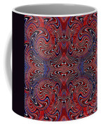 Americana Swirl Design 2 Coffee Mug