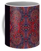Americana Swirl Design 3 Coffee Mug
