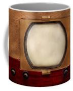 Americana - Tv - The Boob Tube Coffee Mug by Mike Savad