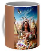 Americans Coffee Mug by Adrian Cherterman
