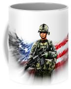 Americas Guardian Angel 2 Coffee Mug by Andrew Read