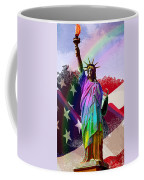 America's Statue Of Liberty Coffee Mug