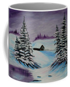 Amethyst Evening After Ross Coffee Mug