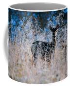 Amid The Frosty Wheat Coffee Mug