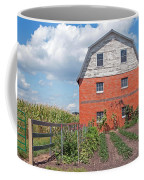Amish Barn And Garden Coffee Mug