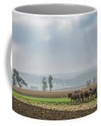 Amish Boy Plowing Coffee Mug