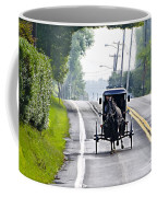 Amish Buggy In Lancaster County Pa. Coffee Mug