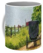 Amish Buggy In Ohio Coffee Mug