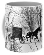 Amish Buggy Revised Coffee Mug