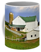 Amish Country Barn Coffee Mug by Frozen in Time Fine Art Photography