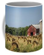 Amish Country Wheat Stacks And Barn Coffee Mug