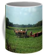 Amish Field Work Coffee Mug