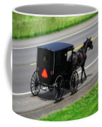 Amish Horse And Buggy In Ohio Coffee Mug