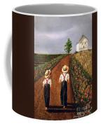 Amish Road Coffee Mug by Linda Simon