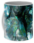 Ammonite Seascape Coffee Mug