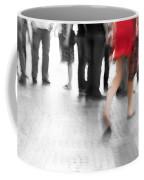 Among Black And White Big City Rush Coffee Mug
