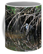 Among The Mangrove Roots Coffee Mug