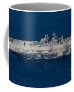 Amphibious Assault Ship Uss Bonhomme Coffee Mug