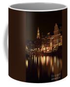 Amsterdam At Night Coffee Mug