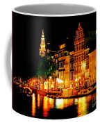 Amsterdam At Night Four Coffee Mug