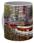 Amsterdam Canal And Houses Coffee Mug