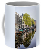 Amsterdam Canal In Spring Coffee Mug