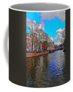 Amsterdam Canal In Spring Coffee Mug
