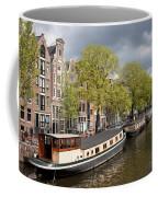 Amsterdam Canal Waterfront Coffee Mug